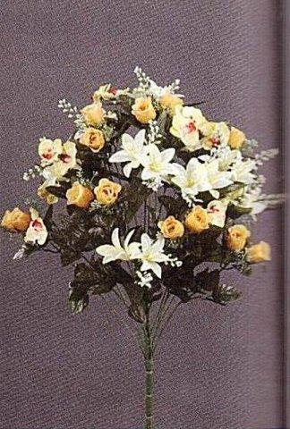 Mazzo Di Fiori Secchi.Bouquet Di Fiori Artificiali Bouquet Di Fiori Artificiali